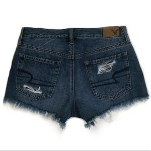 American Eagle Outfitters Shorts - AEO Vintage Hi Rise Festival Destroyed Denim Short